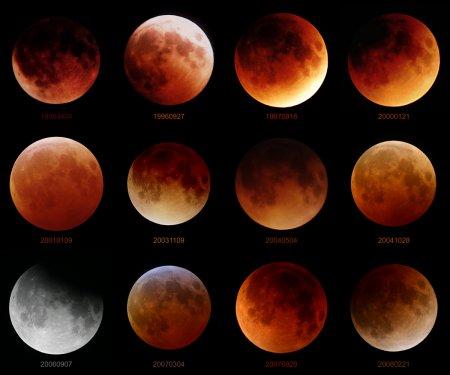 Двенадцать лунных затмений